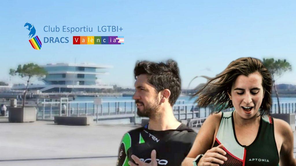 Actividades deportivas abiertas del C.E. LGTBI+ DRACS València del mes de julio